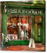 Store Front - Alexandria Va - The Creamery Canvas Print