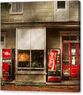 Store Front - Waterford Va - Waterford Market  Canvas Print