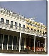 Store Fronts Old Sacramento Canvas Print
