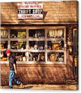 Store -  The Thrift Shop Canvas Print