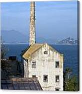 Storehouse Alcatraz Island San Francisco Canvas Print