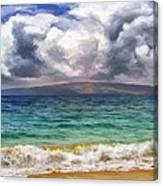 Storm Across The Channel Canvas Print