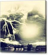 Storm And Flood Canvas Print