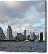 Storm Approaching San Diego  Canvas Print