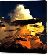 Storm At Dusk Canvas Print
