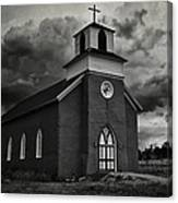 Storm At San Rafael Church Canvas Print