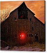 Storm Barn Canvas Print
