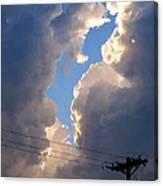 Storm Clouds 4 Canvas Print