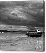 Storm Clouds Coming Canvas Print