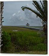 Storm Clouds Near Port Lavaca Canvas Print