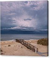 Storm Clouds On The Outer Banks Canvas Print