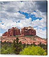 Storm Clouds Over Cathedral Rocks Canvas Print