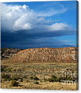 Storm Clouds Over Central Wyoming Canvas Print