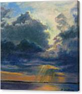 Storm Clouds Over P-town Canvas Print