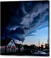 Storm Cover Canvas Print