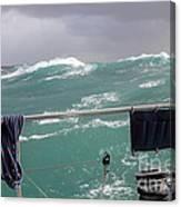 Storm On Tasman Sea Canvas Print