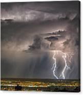 Storm Over Albuquerque Canvas Print