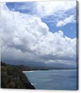 Storm Over Bali Hai Canvas Print