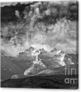 Storm Over Como Canvas Print