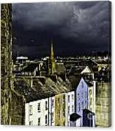 Storm Over Conwy Canvas Print