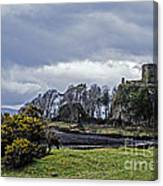 Storm Over Dunollie Canvas Print