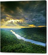 Storm Over Edwards Point Canvas Print