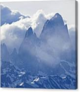 Storm Over Fitz Roy 3 Canvas Print