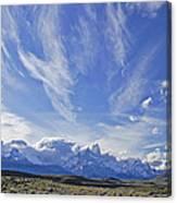 Storm Over Fitz Roy 4 Canvas Print