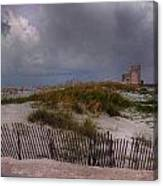 Storm Over Gulf Shores  Canvas Print