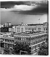 Storm Over San Antonio Texas Skyline Canvas Print