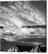 Storm Over Sedona Canvas Print