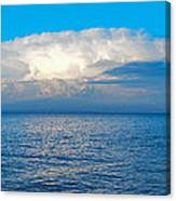 Storm Over Whitefish Bay Canvas Print