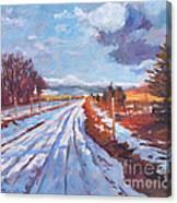 Storm Passing Canvas Print