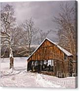 Storm Shed Canvas Print