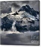 Storms Over Jagged Peaks Canvas Print