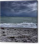 Storm's Rolling In Canvas Print