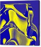 Stormtrooper Helmet 8 Canvas Print