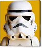 Stormtrooper Portrait Canvas Print