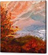 Stormy Autumn Day Canvas Print