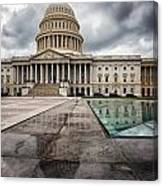 Stormy Capitol Day I Canvas Print