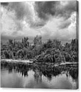 Stormy Lake Trafford Canvas Print