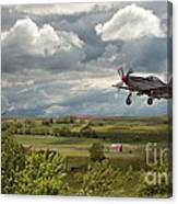 Stormy Landing Canvas Print