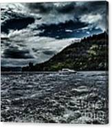 Stormy Loch Ness Canvas Print