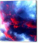 Stormy Monday Blues Canvas Print