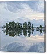 Stormy Morning On The Lake Canvas Print