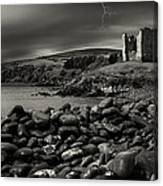 Stormy Night In Ireland Canvas Print