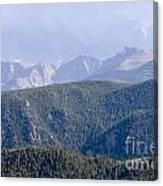 Stormy Pikes Peak Canvas Print