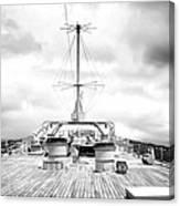Stormy Ship Canvas Print