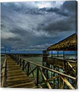 Stormy Siargao Canvas Print