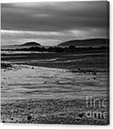 Stormy Skies At Seaton Sands Canvas Print